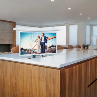 pop up TV Lift installation in  BOSTON, THE SOUTH SHORE, CAPE COD, MARTHA'S VINEYARD, AND NANTUCKET
