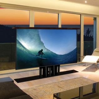 TV lift for huge screens in  BOSTON, THE SOUTH SHORE, CAPE COD, MARTHA'S VINEYARD, AND NANTUCKET